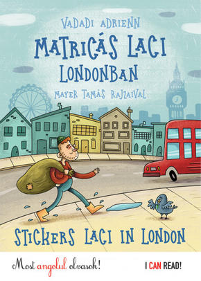 Matricás Laci Londonban - Stickers Laci in London Vadadi Adrienn