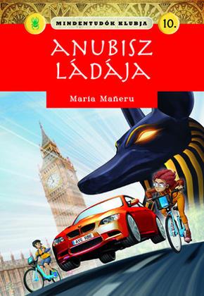 Maria Mañeru: Anubisz ládája